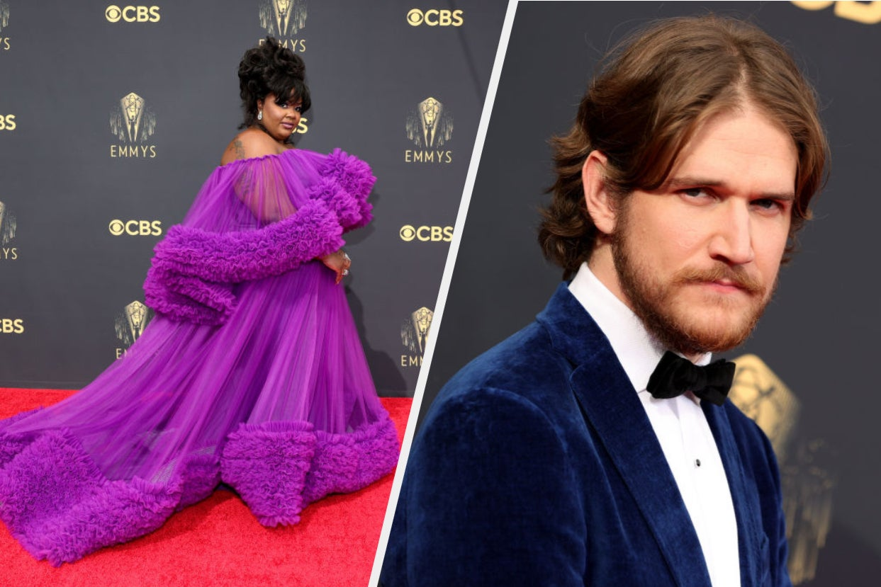 Reg-Jean Page, Elizabeth Olsen, Dan Levy And More Rocked The 2021 Emmys Red Carpet In Some Stunning Looks