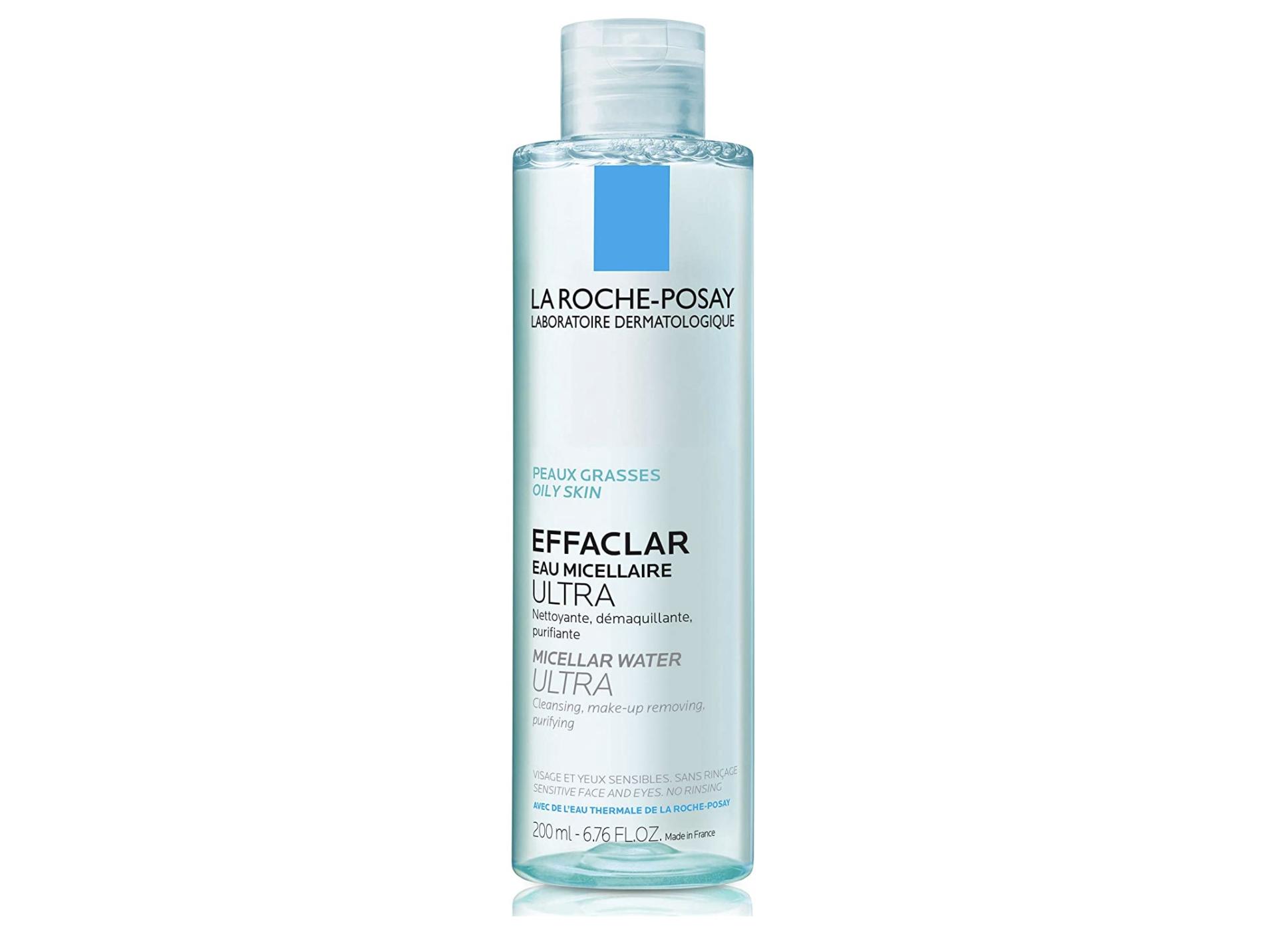 Agua micelar purificante para piel grasa