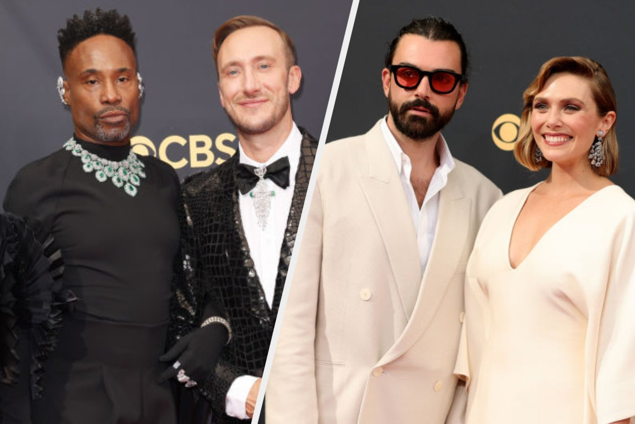 These 20 Celeb Couples Took Our Breath Away On The 2021 Emmy Awards Red Carpet