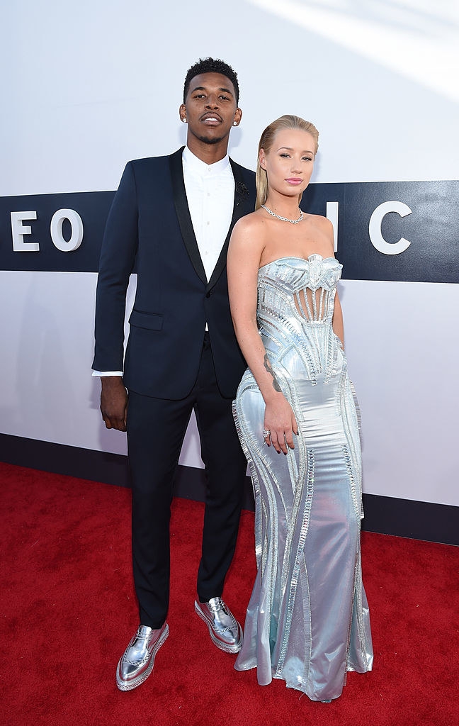 Former NBA player and rapper on the red carpet