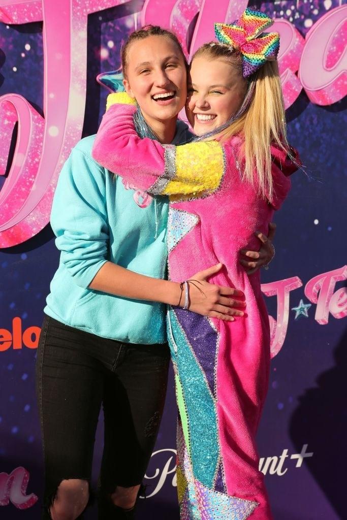 Singer and her partner hugging