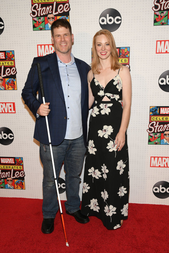 """""""Daredevil"""" actor and """"The Bleachers"""" actor on the red carpet"""