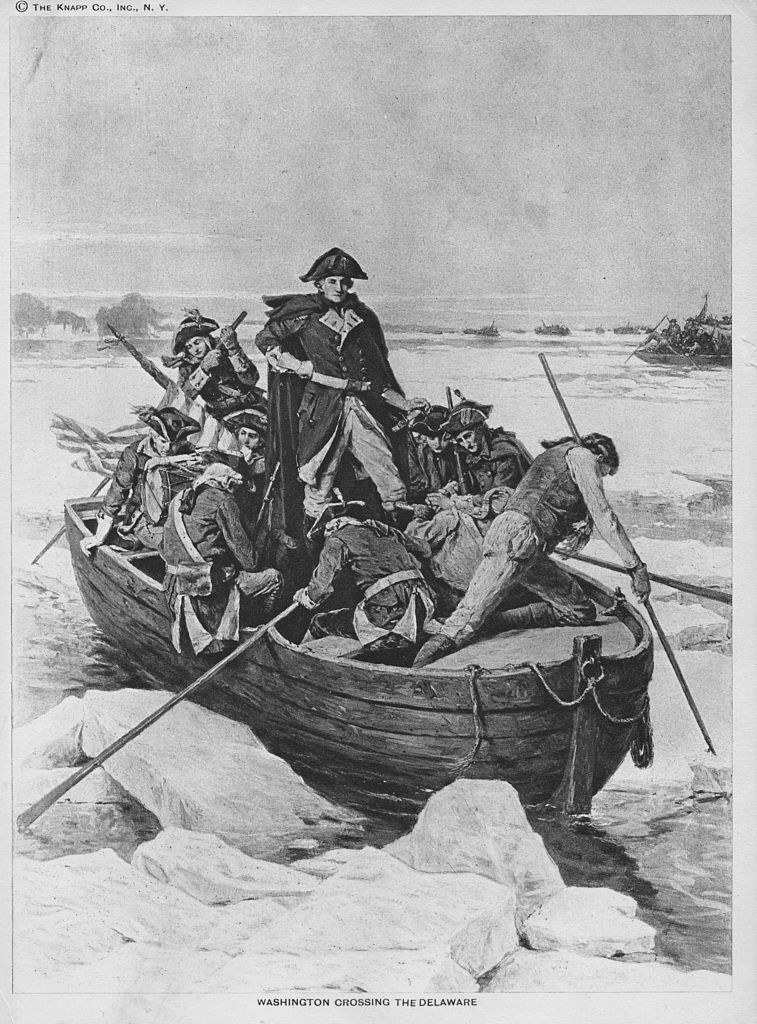 Another image of Washington crossing the Delaware