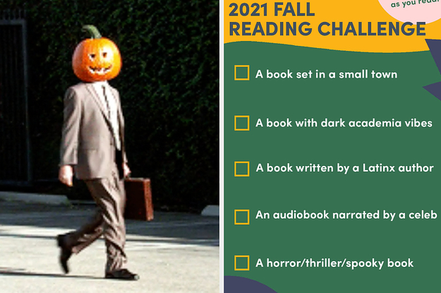 Try This Fall Reading Challenge If You Want To Read More Books