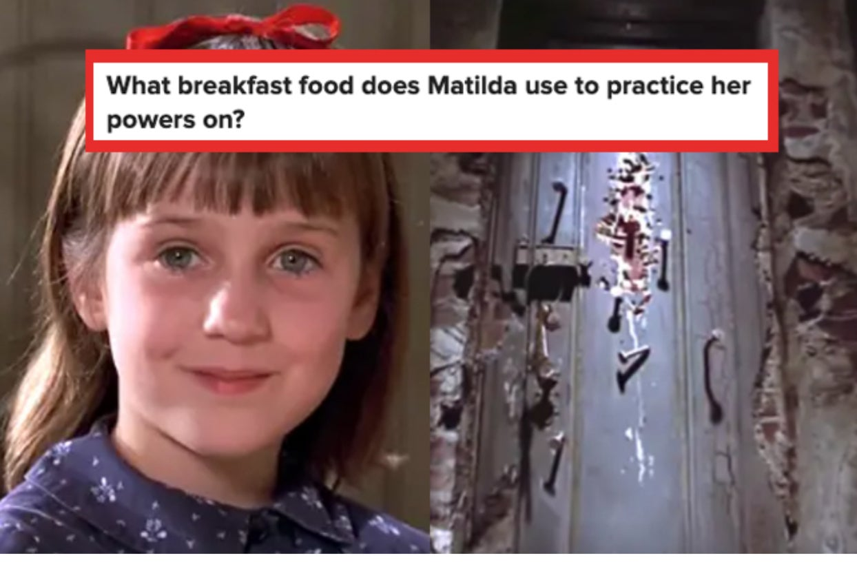 """If You Can't Get 10/15 On This """"Matilda"""" Quiz, You're Going Straight To The Chokey"""
