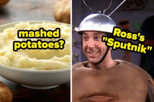 potatoes and ross's sputnik