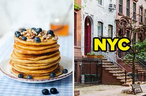 pancakes and nyc