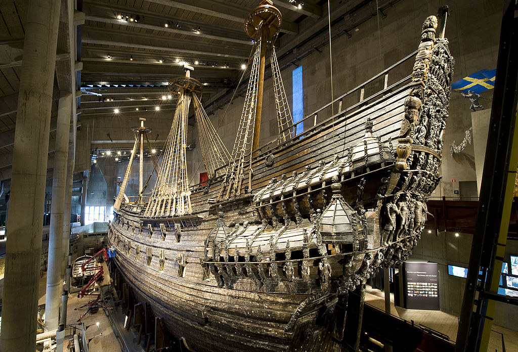 reconstructed ship