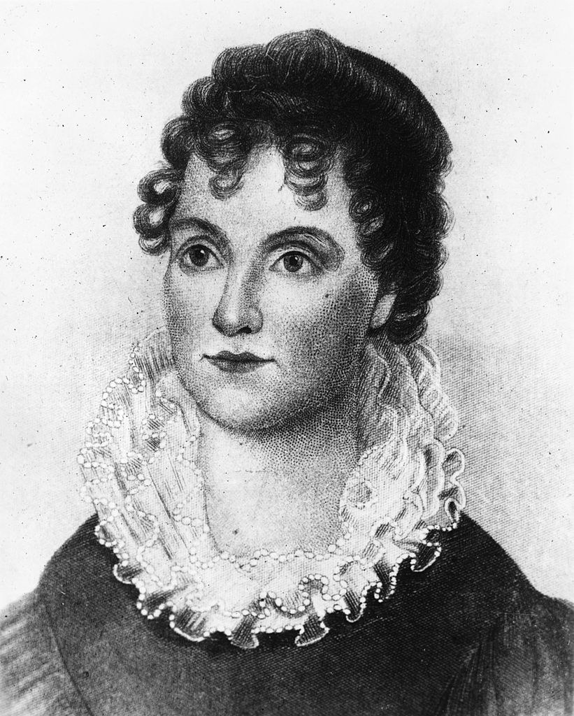 A portrait of Hannah Van Buren