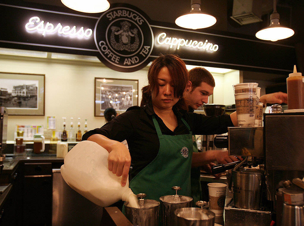 the Starbucks flagship store looks just like the one in your local mall