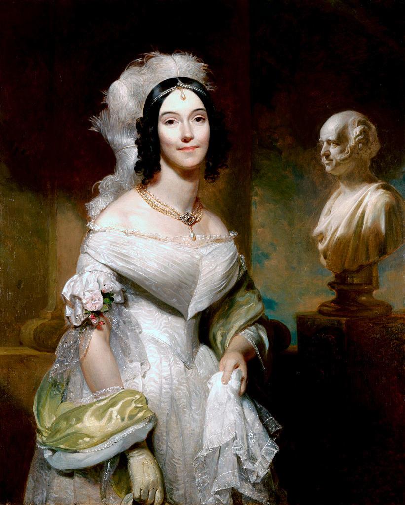 Angelica Singleton in formalwear