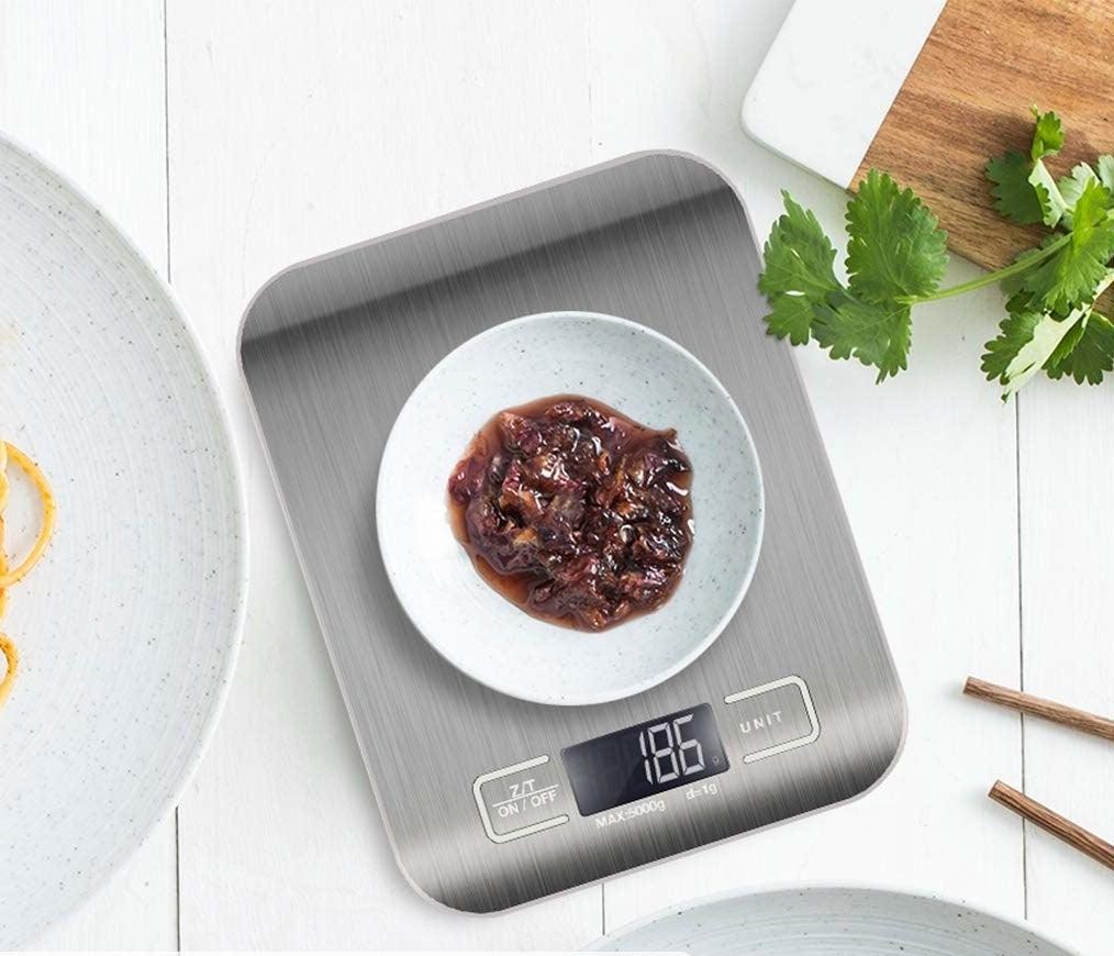 Báscula digital de acero inoxidable para cocina