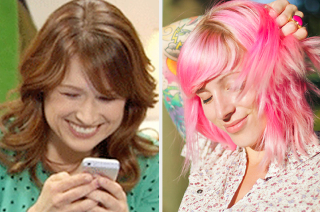 Your Texting Etiquette Will Reveal Which Color You Should Dye Your Hair Next