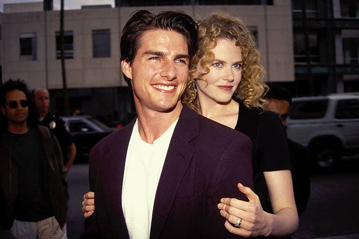 Tom Cruise and Nicole Kidman in Los Angeles 1992