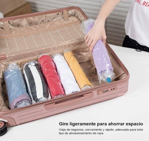 Foto de paquete de bolsas al vacío