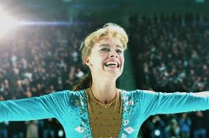 Tonya Harding in the film I, Tonya