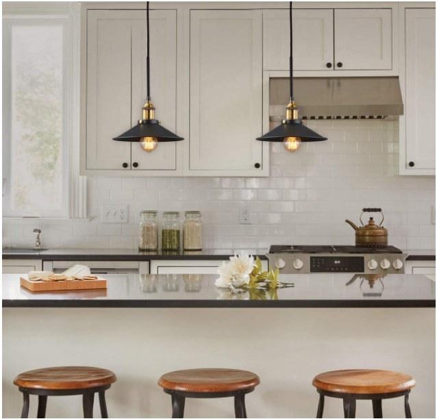 Foto de lamparas con estilo industrial
