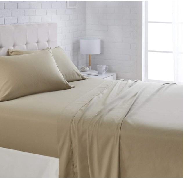 Foto demostrativa de sabanas y fundas de almohadas