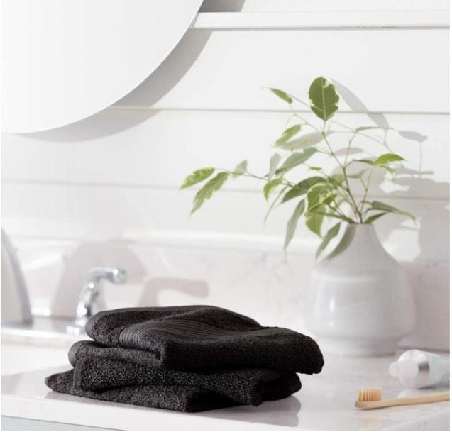 Foto de toallas de baño para manos.