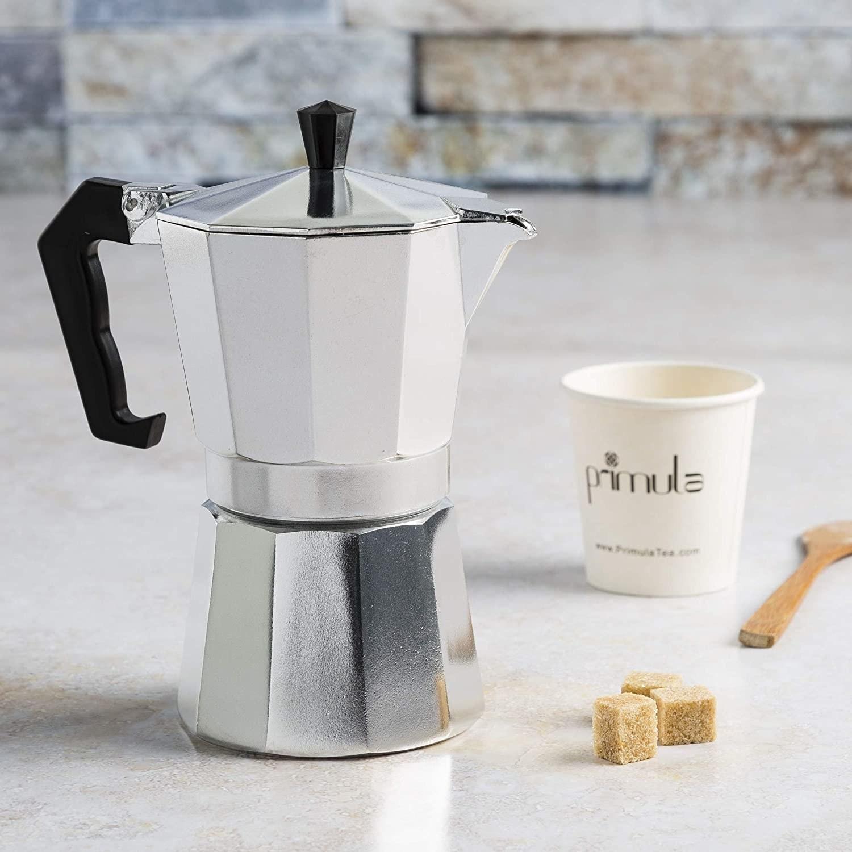Cafetera espresso de aluminio