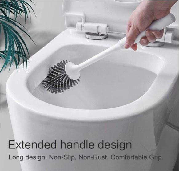 Foto de limpiador de baño con soporte incluido