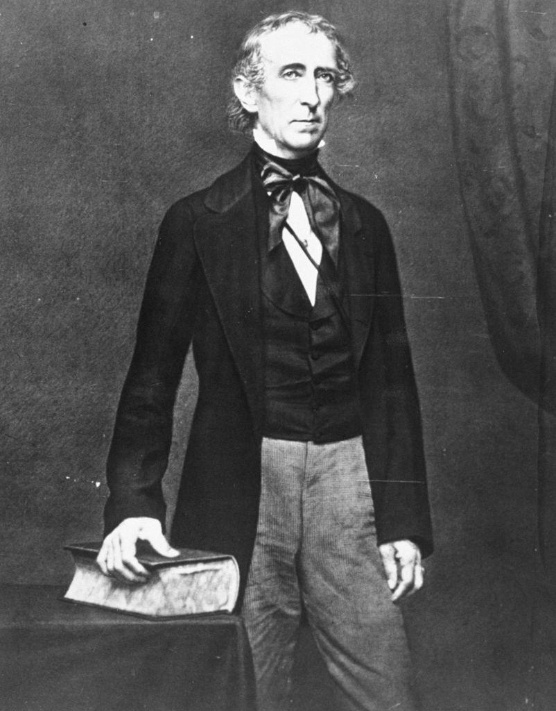 A photograph of John Tyler
