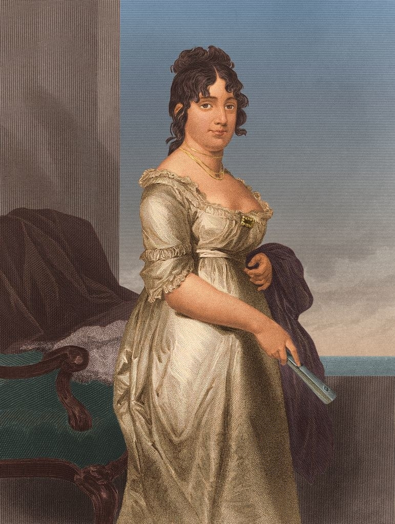 a portrait of Dolley Madison