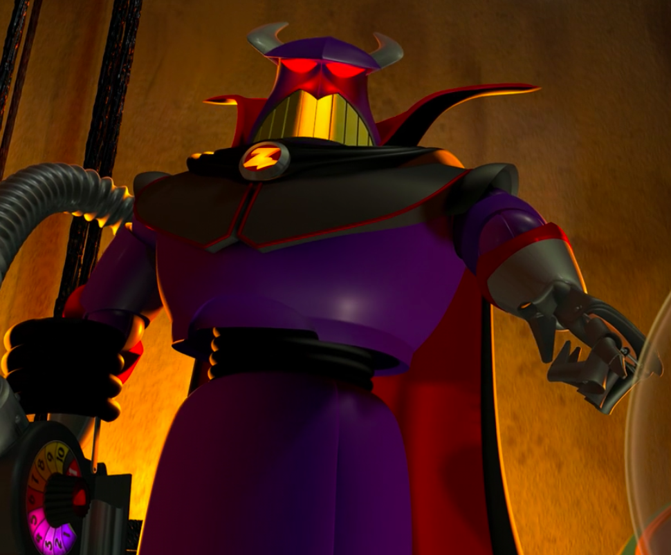 Buzz'z arch nemesis in action figure form