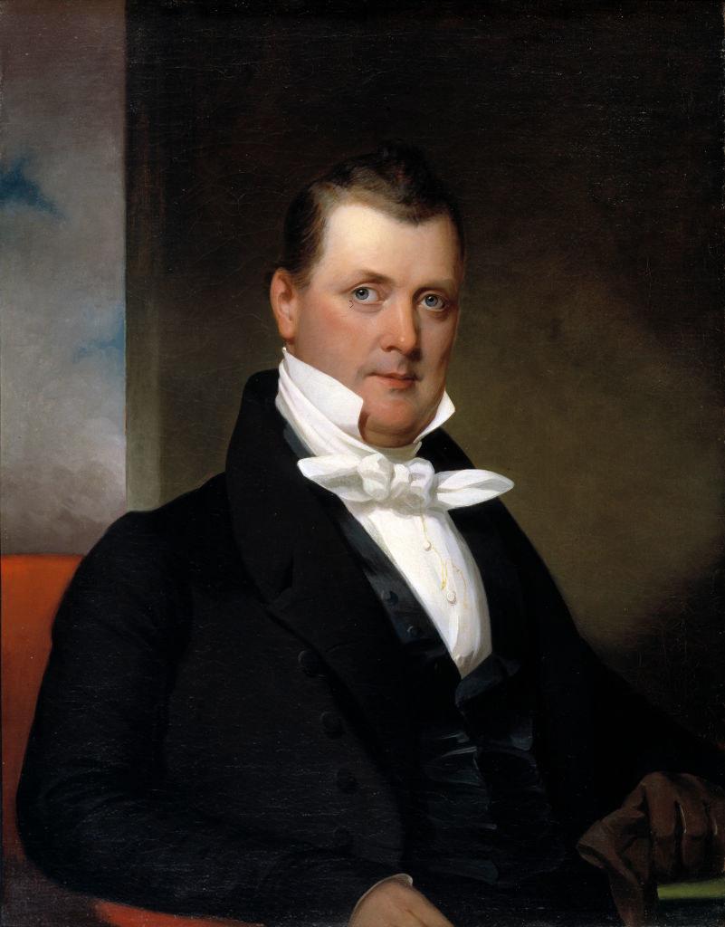 Buchanan as a young man
