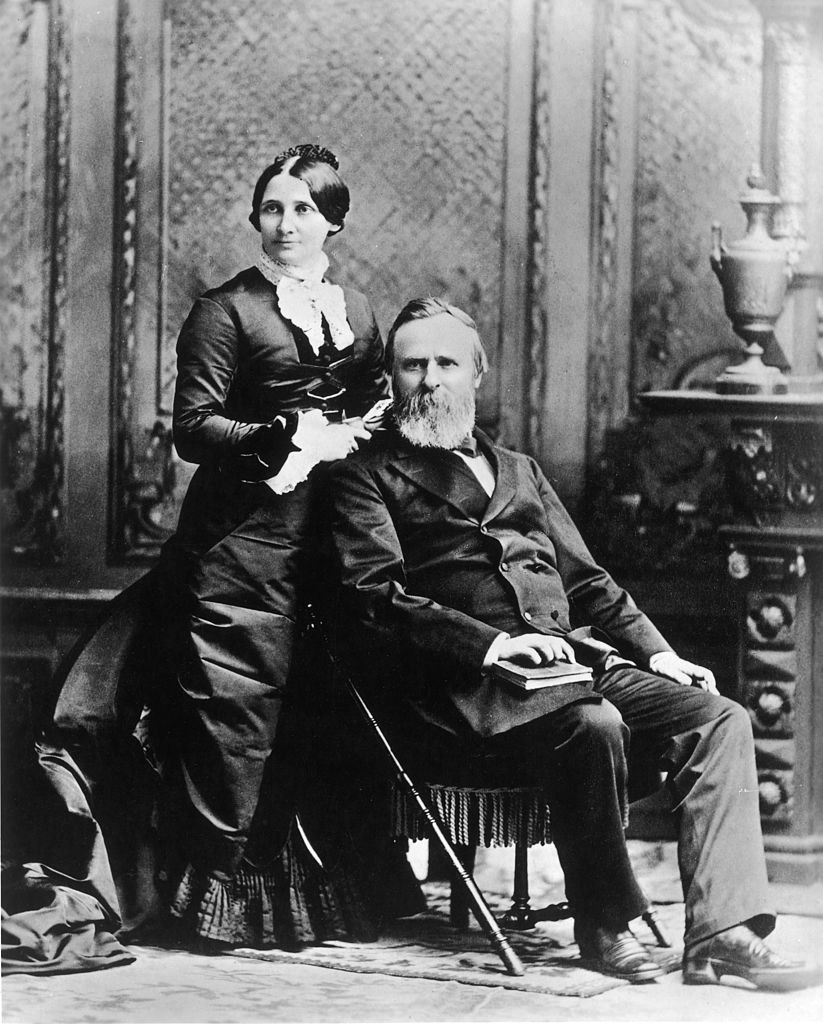 Hayes and his wife, Lucy