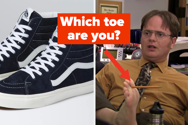 Your New Shoes Will Reveal Which Toe You Are