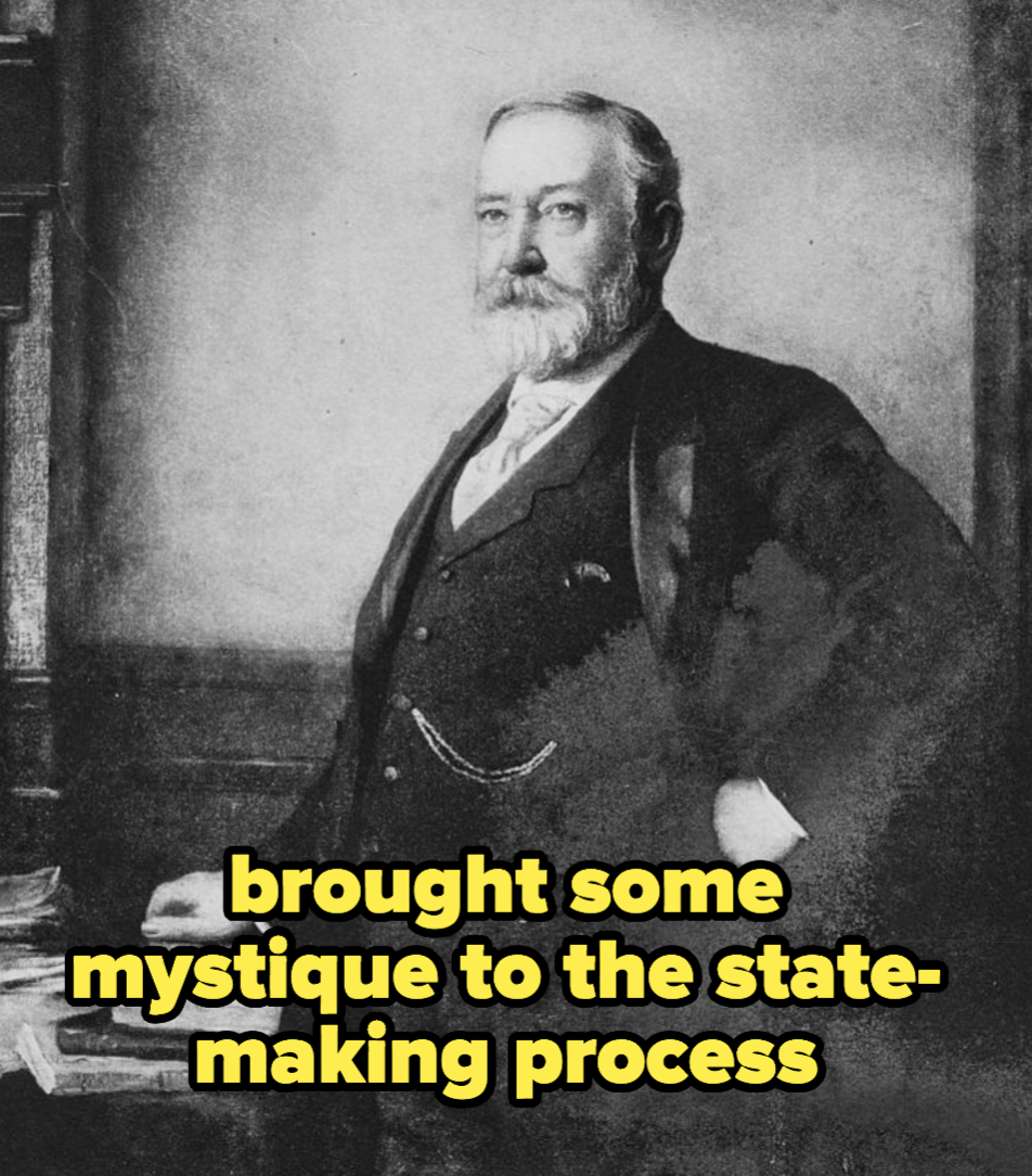 Harrison, who brought some mystique to the state-making process