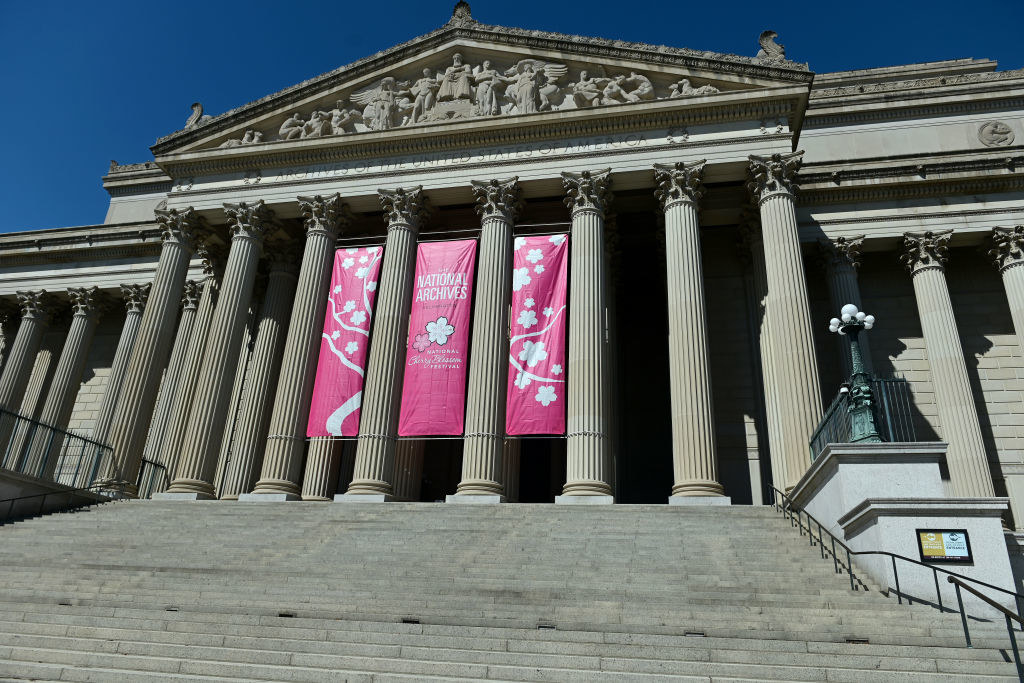 The National Archives in DC