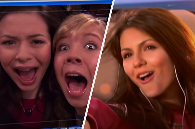 """Pick Some Random Nickelodeon Shows & We'll Reveal If You're More Like """"iCarly"""" Or """"Victorious"""""""