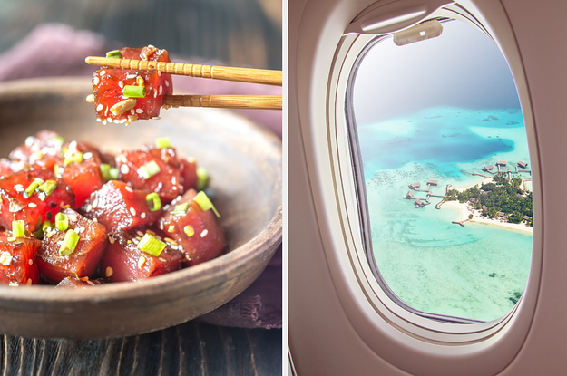 Order A 7-Course Meal To Reveal Where You Should Take A Tropical Vacation