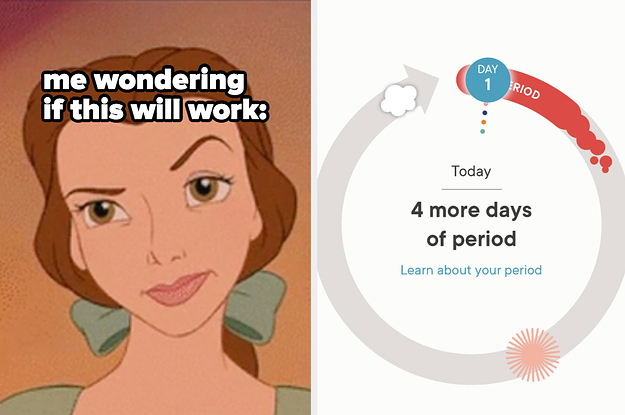 I Tried A Period-Tracking App For 30 Days And Here's How It Went