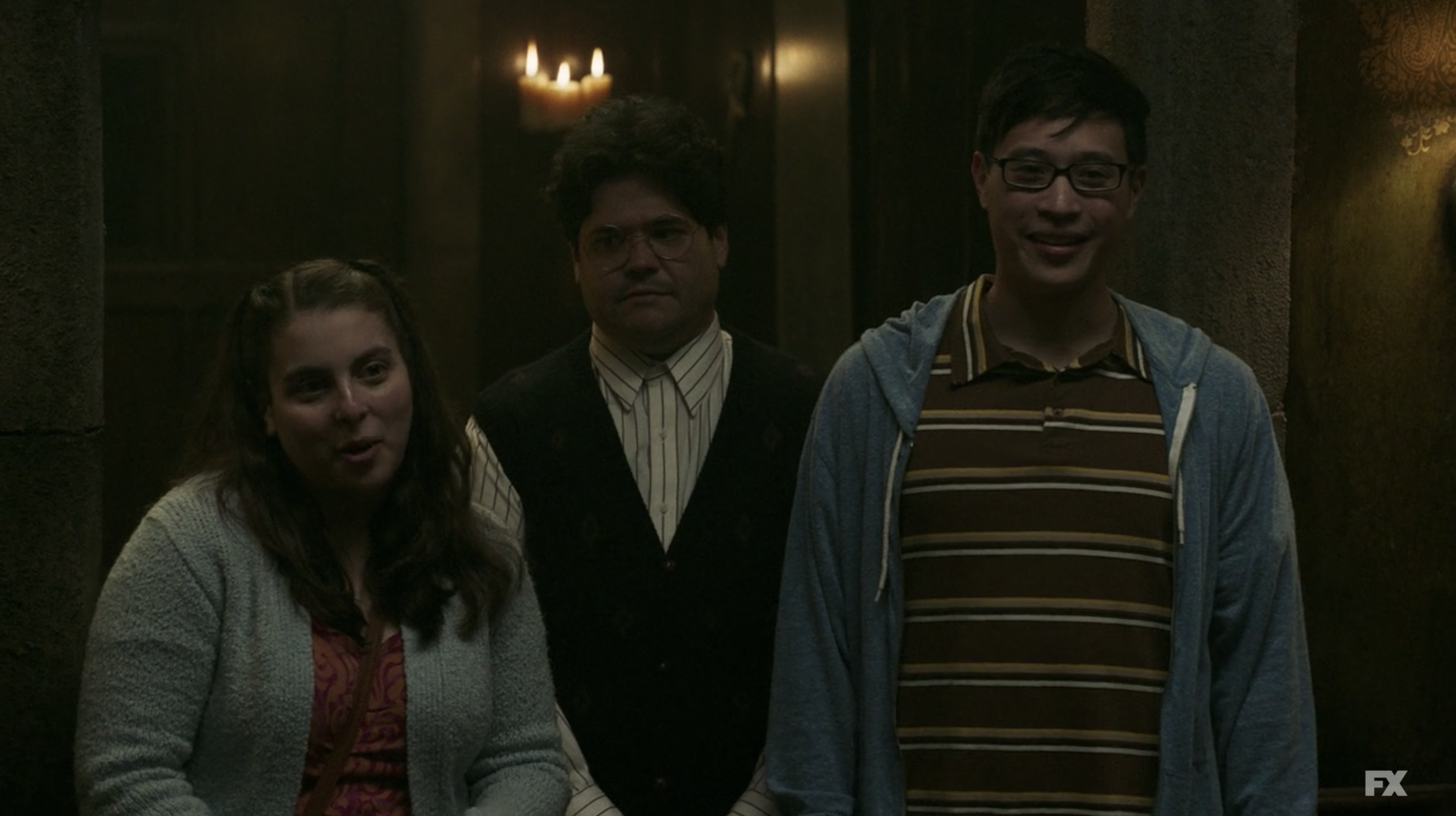 """Beanie as Jenna in """"What We do in the Shadows"""""""
