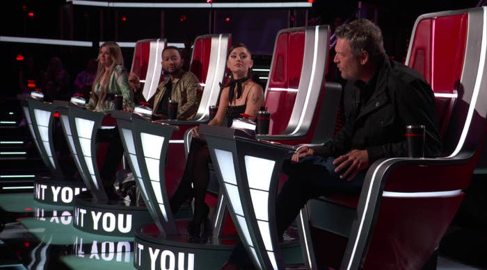 The judges sitting in their seats