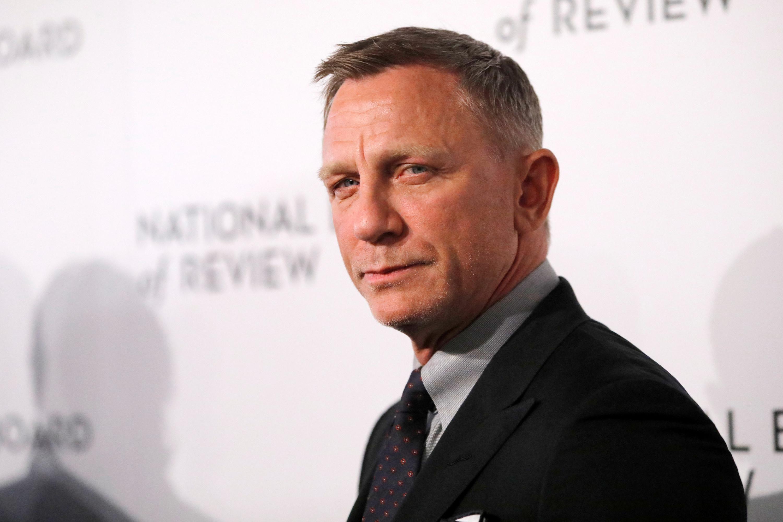 Daniel Craig looking at the camera
