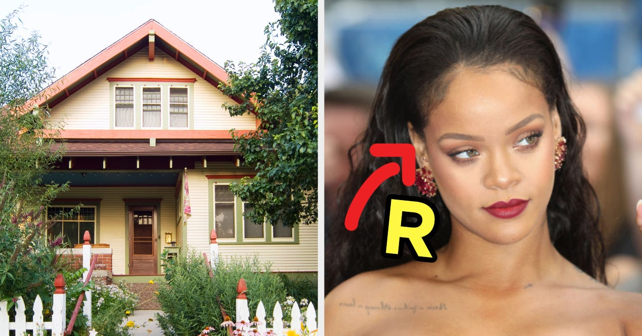 Not To Freak You Out Or Anything, But We Can Guess The First Letter Of Your Name Based On The House You Design - buzzfeed