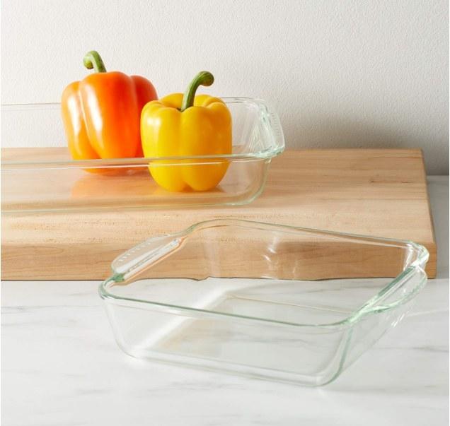 Foto de recipientes de cristal para horno