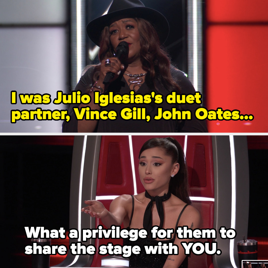 Ari said it was a privilege for Julio Iglesias, Vince Gill, and John Oates to have shared a stage with Wendy