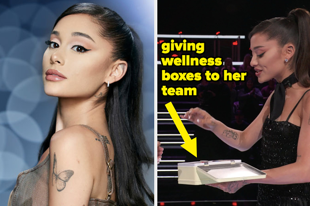 """Every Time Ariana Grande Was A Perfect Human On The Season 21 Premiere Of """"The Voice"""""""