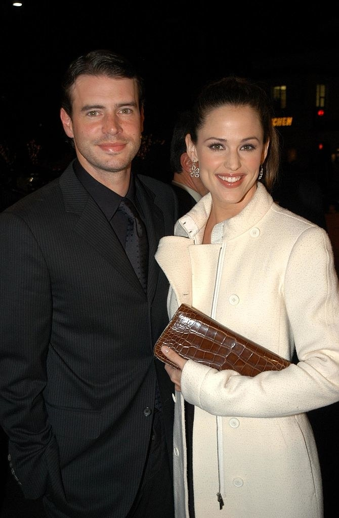 Scott Foley and Jennifer Garner during Dreamworks Premiere of Catch Me If You Can