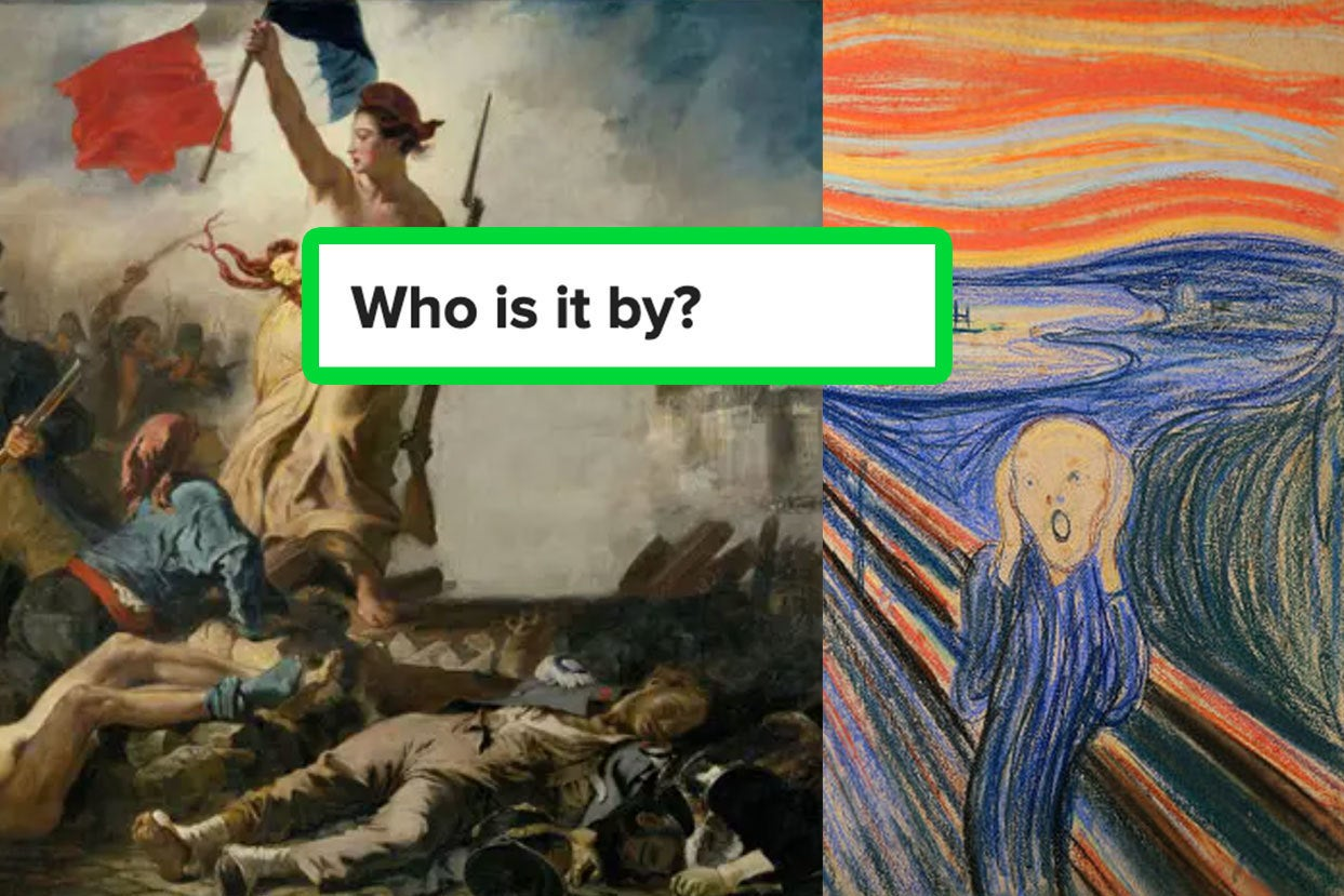 This Trivia Quiz Will Determine If You're An Art Lover Or A Poser