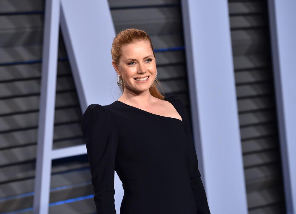 Amy Adams attends the 2018 Vanity Fair Oscar Party