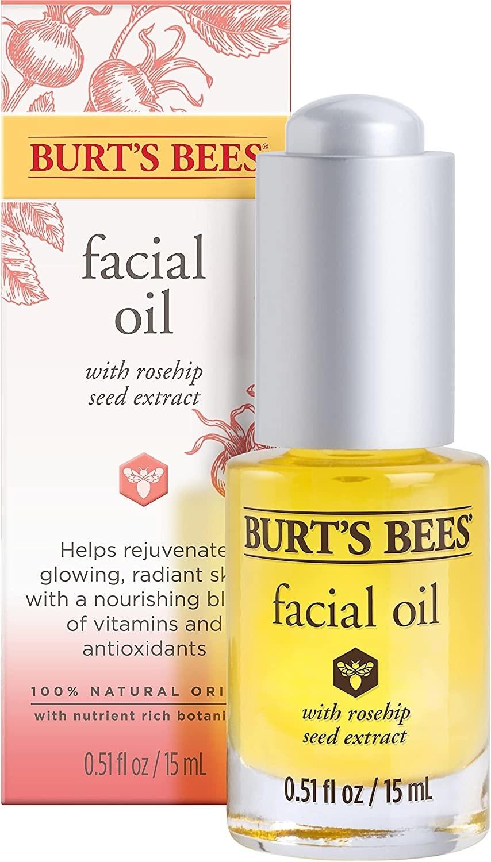 Aceite facial para piel seca