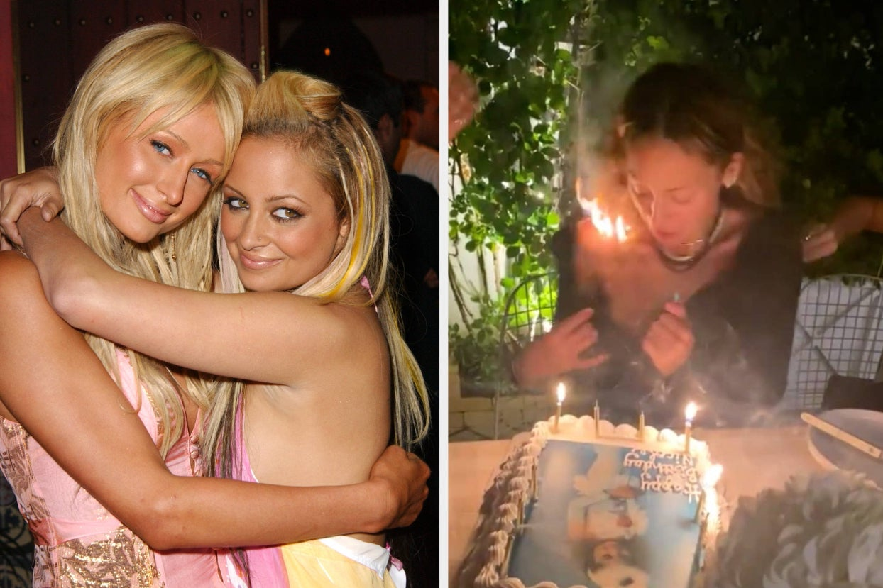 Nicole Richie Posted A Terrifying Video After Accidentally Setting Her Hair On Fire While Celebrating Her Birthday