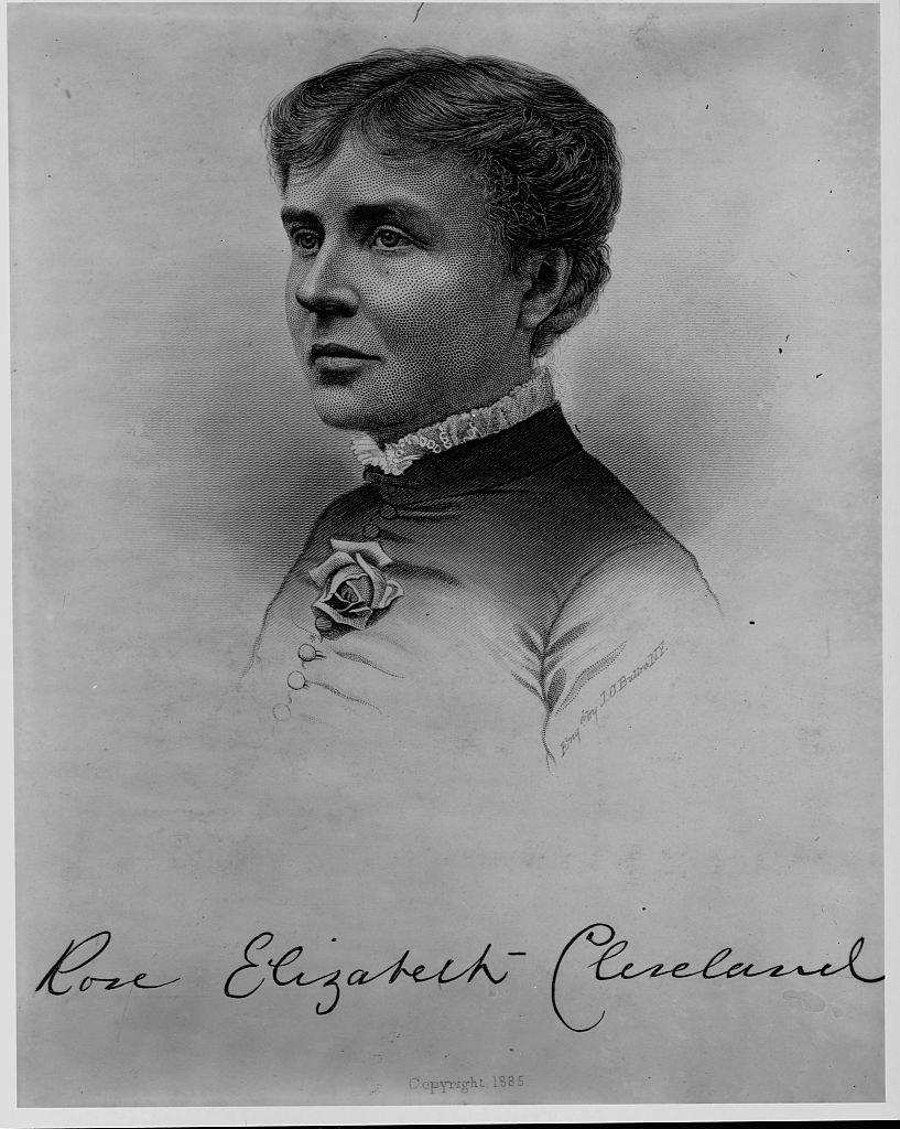 a portrait of Rose Elizabeth Cleveland