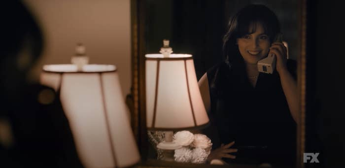 """Beanie as Monica in """"Impeachment: American Crime Story"""""""